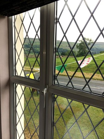Wensleydale Farmhouse Bed & Breakfast: View from our bedroom window...