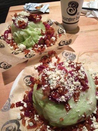8oz Burger Bar: yummy wedge salads