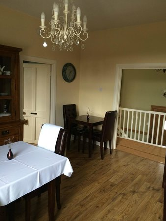 Wensleydale Farmhouse Bed & Breakfast: Dining Room