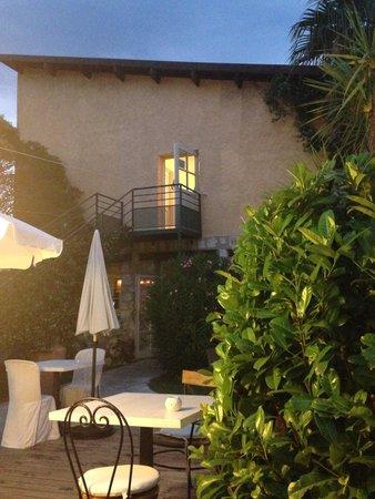 Hermitage Hotel and Restaurant : Giardino e ristorante