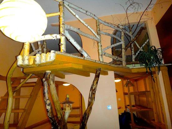 Artharmony Pension and Hostel: Janina - loft 'deck'