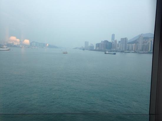 Harbour Grand Kowloon: view from the room
