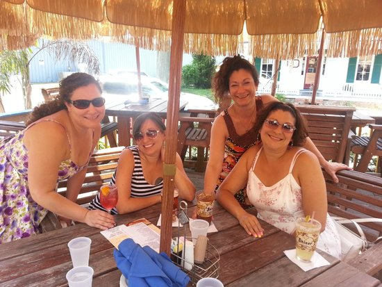 Marcoritaville Tiki Bar & American Grille : Girls Day Out in St Michael's, MD
