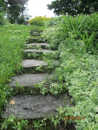 Rockville Inn B&B: steps to the docks