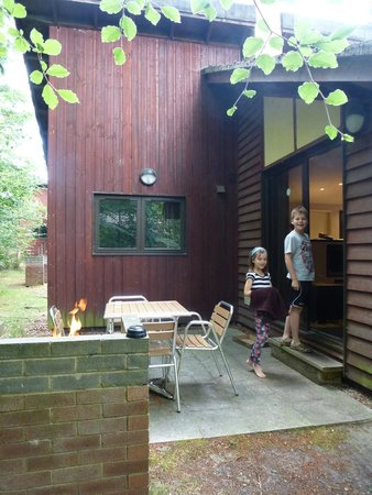 Center Parcs Whinfell Forest: Our patio
