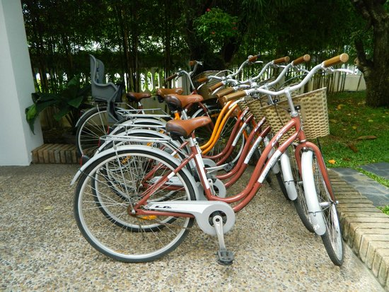 Rimping Village: Bicycles for free use