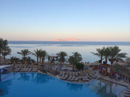 Xperience Sea Breeze Resort: View of Tiran Island from block 18