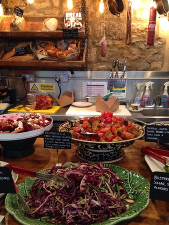 Jamie's Italian : Delicious and healthy salads!
