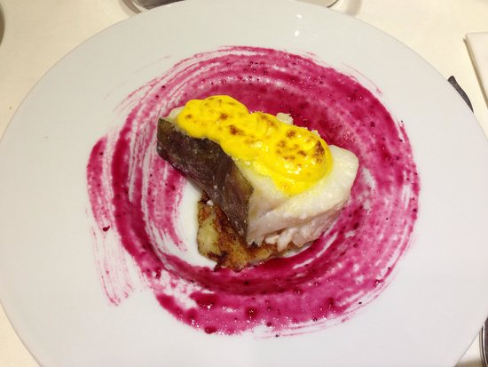 La Fragua - Alabarda: Este plato de bacalao, espectacular!