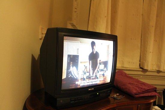 Barry's Hotel: Tv de très mauvaise qualité