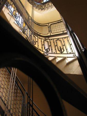 Hotel Palacio: Escaleras