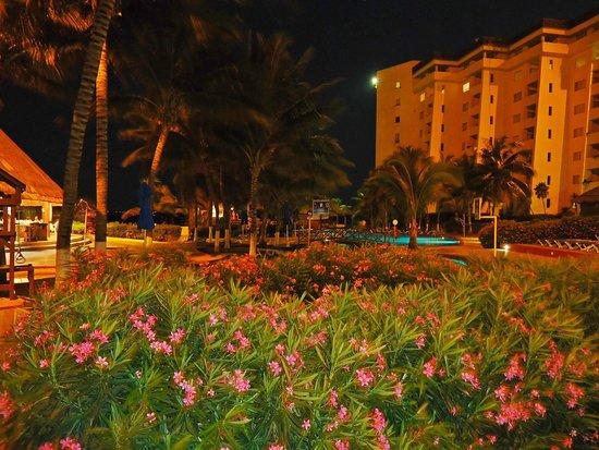 Casa Maya Cancun : El hotel en la noche