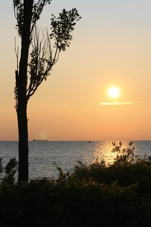 Point Betsie Lighthouse: Setting Slowly from Point Betsie
