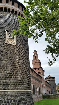 Castello Sforzesco: Uma visão diferenciada de outra época