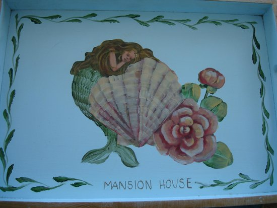 Mansion House: Cute room tray