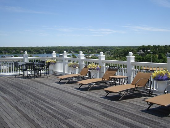 Mansion House: Roof deck