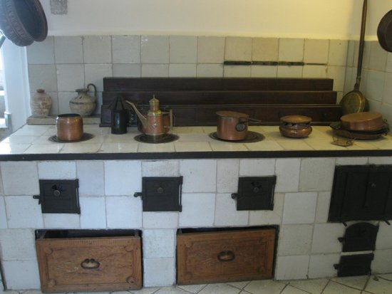 Villa San Michele : Cool oven/stove in the home