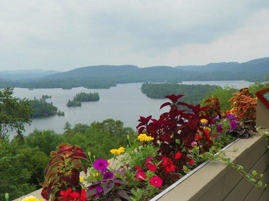 Adirondack Museum: View of Blue Mountain Lake