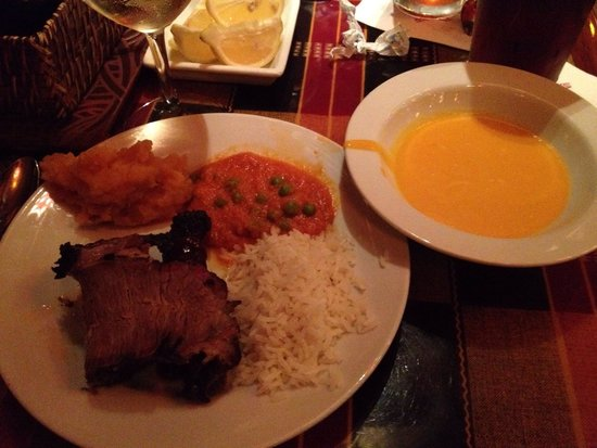 Boma - Flavors of Africa: My dinner from Boma- yummy