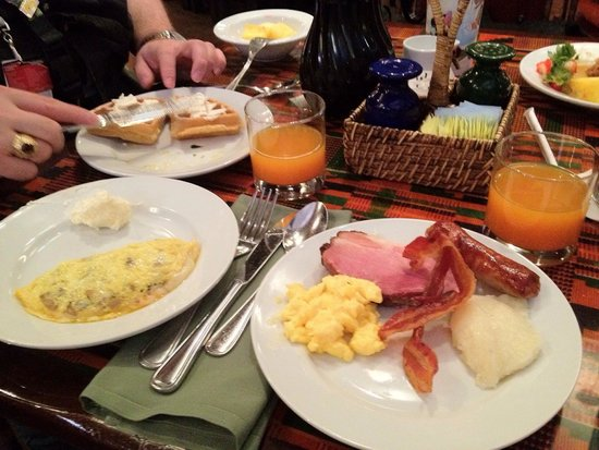 Boma - Flavors of Africa: Boma breakfast- love the Jamba Juice