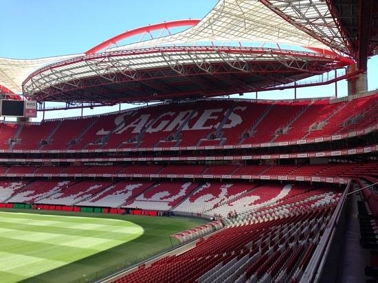 Estadio do Sport Lisboa e Benfica: tribune SAGRES