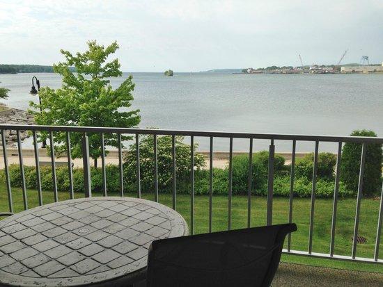 Bridgeport Resort: View from balcony