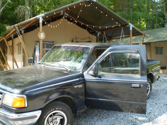 Camp LeConte Luxury Outdoor Resort : this is s-8 safari tent