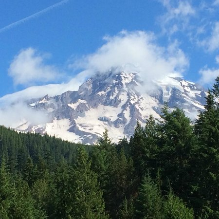 National Park Inn at Mount Rainier: View from front porch