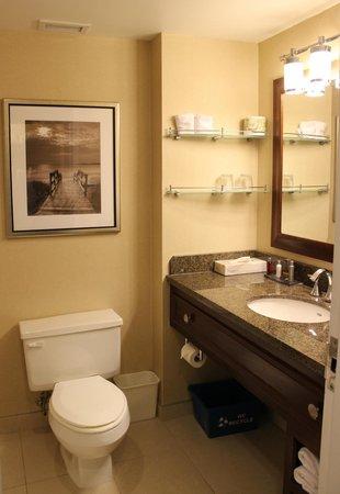 Halifax Marriott Harbourfront Hotel : ванная в 569 номере