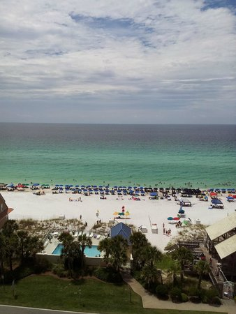 Leeward Key Condominiums: View from the 9th Floor Room Balcony