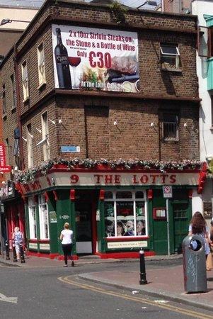 The Lotts Cafe Bar: the lotts