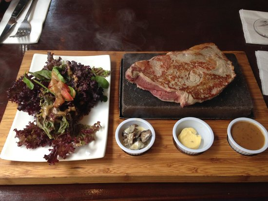 The Lotts Cafe Bar: Entrcot a la piedra
