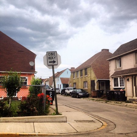East Chicago, IN: Typical Marktown street.