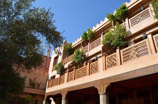La Maison Arabe : Balconies