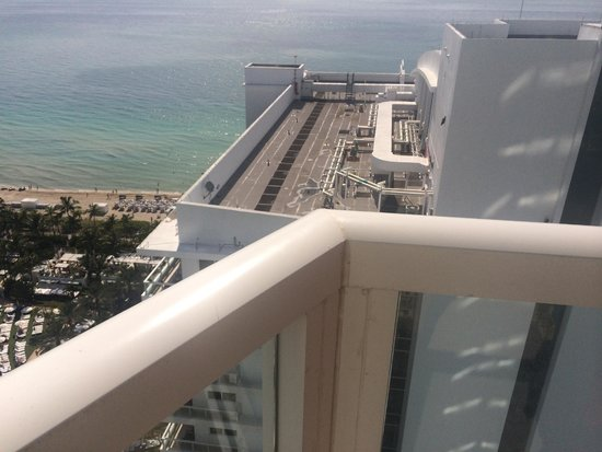 Fontainebleau Miami Beach: What an ocean view room in Tresor gets you, even on the 30th floor