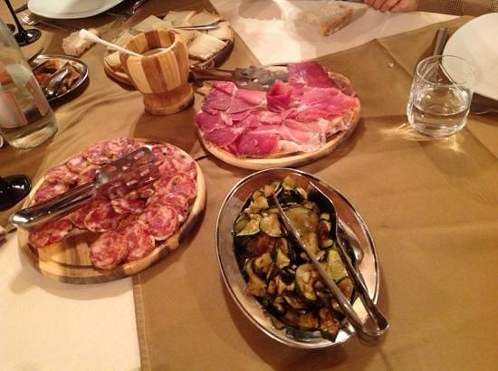 TerreRosse di Massadita : cena locale