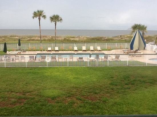 Days Inn & Suites Jekyll Island: what a view from my private balcony