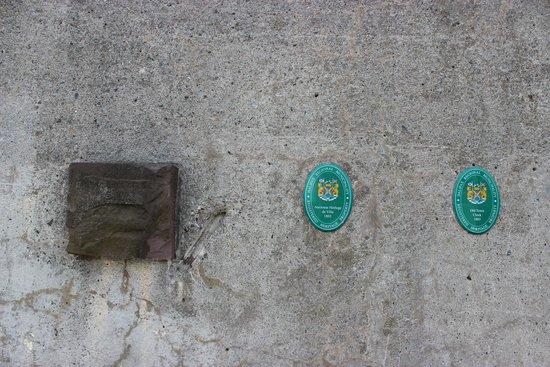 Zitadellenhügel: у лестницы