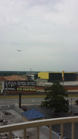 BEST WESTERN PLUS Atlanta Airport-East: new porsche facility being built