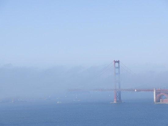 Legion of Honor - down the street overlooking Golden Gate Bridge