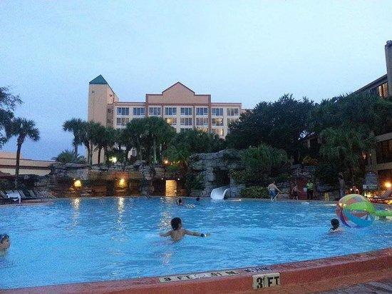 Radisson Resort Orlando-Celebration : View of the pool