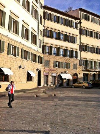 Santa Maria Novella Hotel : Three connecting buildings