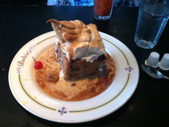 Big Bread Pudding Babins In Houston Picture Of Babin S Seafood