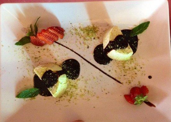 Ristorante Da Andrea - U  Schiticchiu: Semifreddo al pistacchio