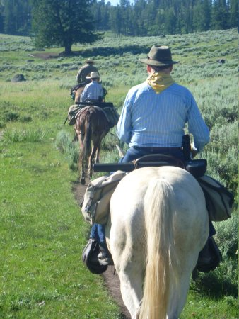 Skyline Guest Ranch and Guide Service : Horseback Ride