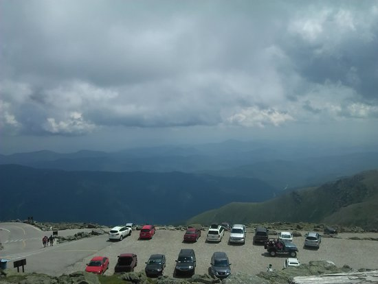 The Mount Washington Cog Railway: from the top