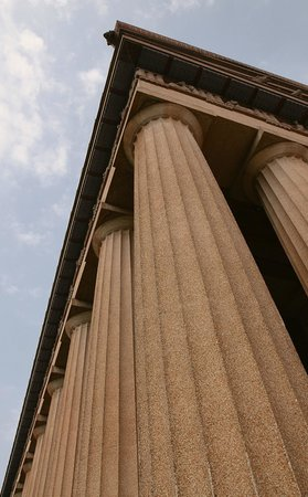Columns of the Parthenon (made of concrete)
