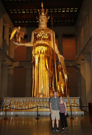 The Parthenon : Athena
