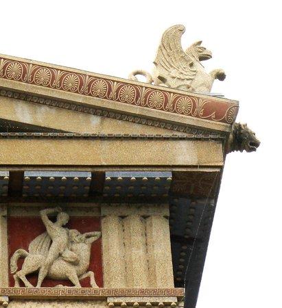 The Parthenon : Gargoyle on Parthenon