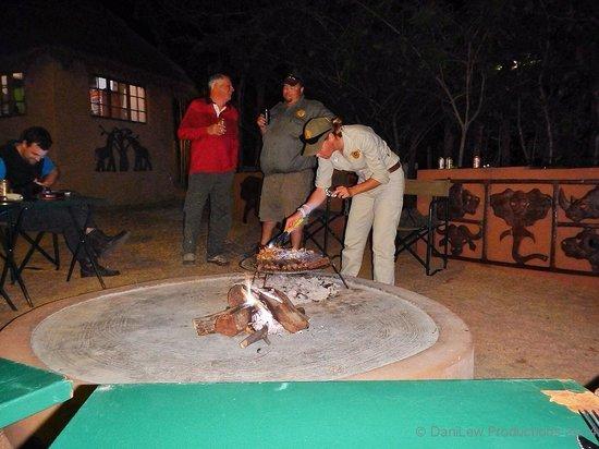 Braai (BBQ) at Tydon Safari Camp